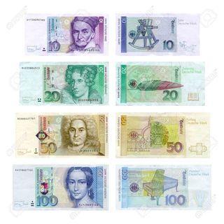 ドイツ マルク 硬貨と紙幣 買います