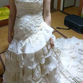 中古ウェディングドレス(9号)値段は要相談