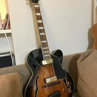 Ibanez フルアコ 7弦ギター