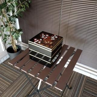 【中古】3段重箱 お弁当箱 ※運動会、お花見、おせちなど