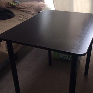 机(ダイニングテーブル) 黒