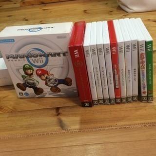 Wii ゲームソフトとD端子AVケーブル