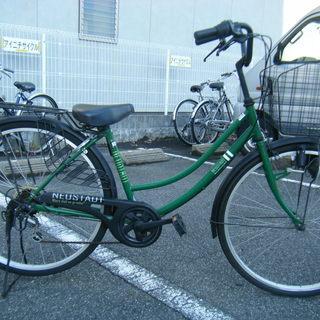 中古自転車68(防犯登録無料)ホームサイクル 26インチ 6段変速...