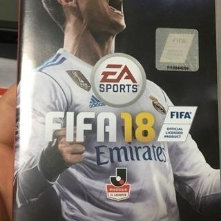 ニンテンドースイッチ本体  FIFA18