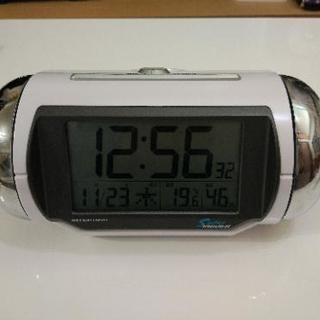 SEIKO 大音量目覚まし時計 Super RAIDEN NR523W