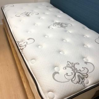 シーリー ベッド シングル マットレス 無印 ベッドフレーム