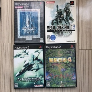 PS2 ソフト 4本セット