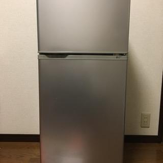 2ドア 一人暮らし用冷蔵庫