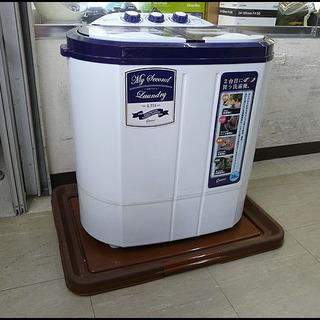 美品★CBジャパン★TOM-05★3.6Kg/2槽式洗濯機/マイセ...