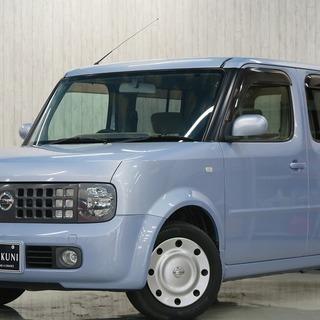 【誰でも車がローンで買えます】H15 キューブ SX 70th 紫...