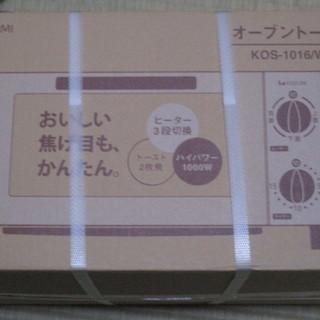 新品 オーブントースター KOS-1016/W ホワイト