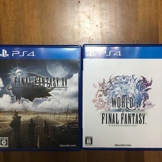 PS4   FINAL FANTASY ⅩⅤ     WORLD ...