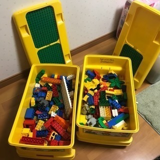 手渡のみ レゴ デュプロ いろいろ ケースのバス2台付き!