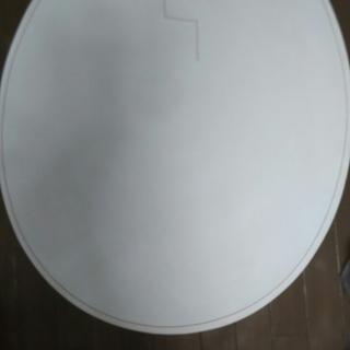 ローテーブル(卵型)
