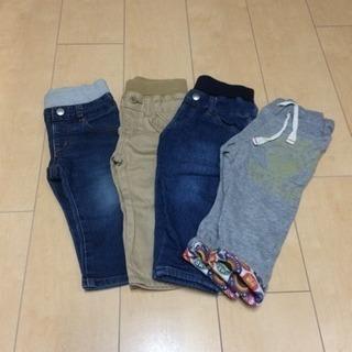 ジーンズ ズボン サイズ80