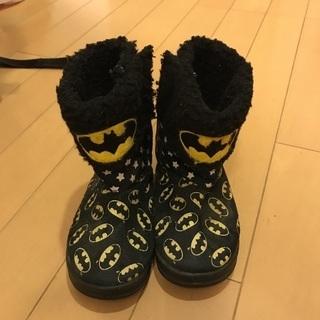 バットマンムートンブーツ 新品