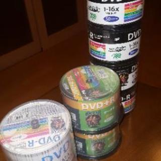 未開封DVDーR300枚とDVD+RDL100枚
