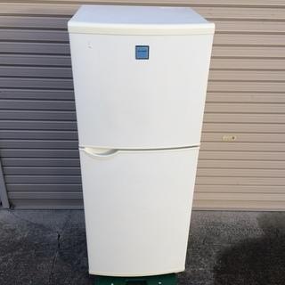 シャープ 2ドア 冷凍冷蔵庫 140L 2003年製 SJ-14FT-W