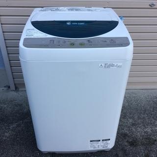 シャープ 4.5kg 洗濯機 2011年製 ES-FG45K-A