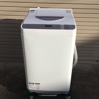シャープ 5.5kg 電気洗濯乾燥機 2015年製 ES-TX55...