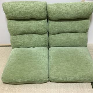 美品☆ローソファ、座椅子