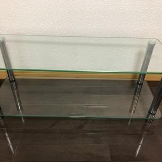 ガラス製 TV台
