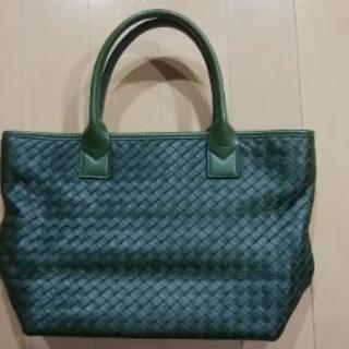深緑 ハンドバッグ