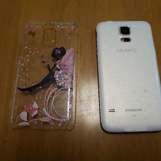 スマホケース GalaxyS5用 クリア