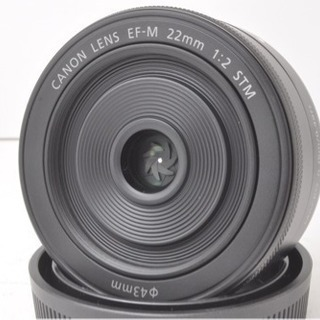 ❤️超可愛い 単焦点❤️キャノン 22mm F2 IS STM ✨...