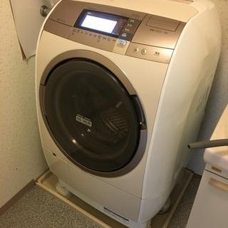 配達可 日立 2015年製 10kg ドラム式洗濯乾燥機 ビッグド...