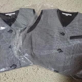 【新品】事務制服ベスト&スカート