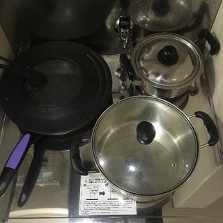 鍋など三点セット