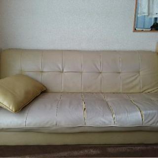ソファーベッド差し上げます!