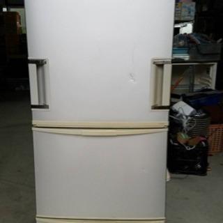 SHARP シャープ 345L 3ドア ノンフロン冷蔵庫 …