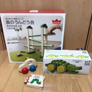 お得な木製おもちゃセット☆森のうんどう会 ダンシングアリゲーター...
