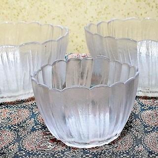 未使用 ガラス食器 昭和ロマン 昭和初期 氷列に梅文 プレ…