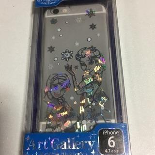 未開封 iPhone6用カバー アナと雪の女王 アナとエルサ