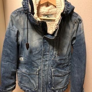デニムのコート