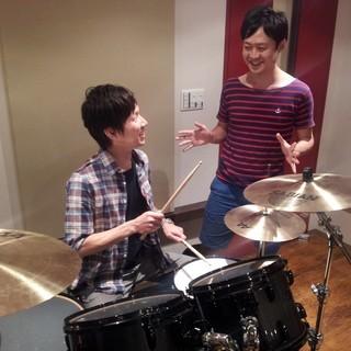 【ドラムレッスン】 ☆現役の一流プロミュージシャンが教えます☆完全...