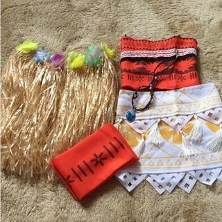 モアナと伝説の海 モアナ衣装 ドレス