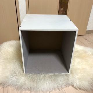 収納 カラーボックス ホワイト