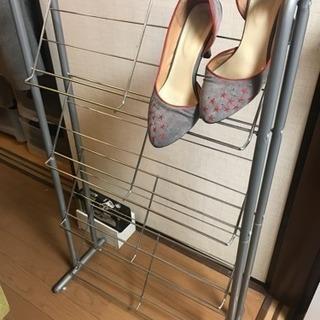 靴用薄型ラック