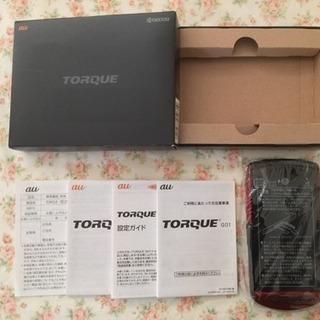値下げ❗️未使用❗️ au TORQUE G01 赤