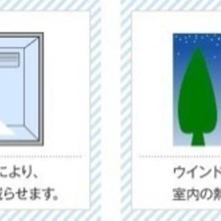 断熱冷暖房費の節約に、ガラスフィルム貼ります!1,080円/1平米 - リフォーム
