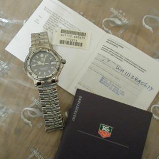 【新品未使用】TAG HEUER タグホイヤー腕時計(WH1112)