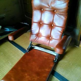 高級感のある座椅子!