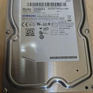 中古 SAMSUNG製 500GB HD502IJ SATA