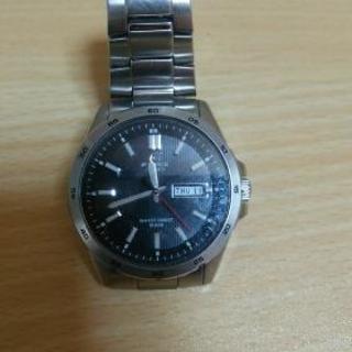 EDIFICEの腕時計です!