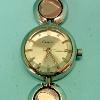 送料無料(k6)電池交換済クレセント日本製レディース腕時計USED