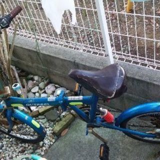 20型折り畳み自転車 変速機付